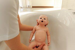赤ちゃんのモデル